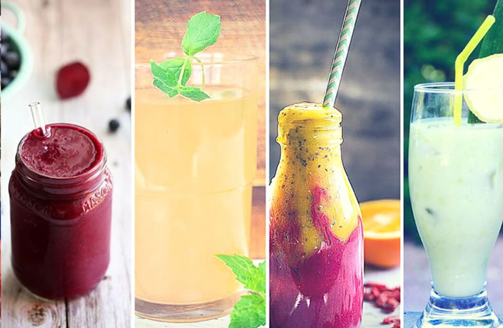 5 boissons healthy et tellement bonnes dénichées sur Pinterest