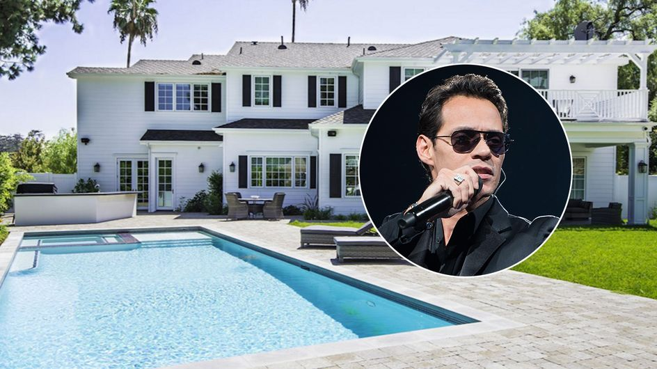 Marc Anthony vende su mansión de Los Ángeles: ¡Visítala!