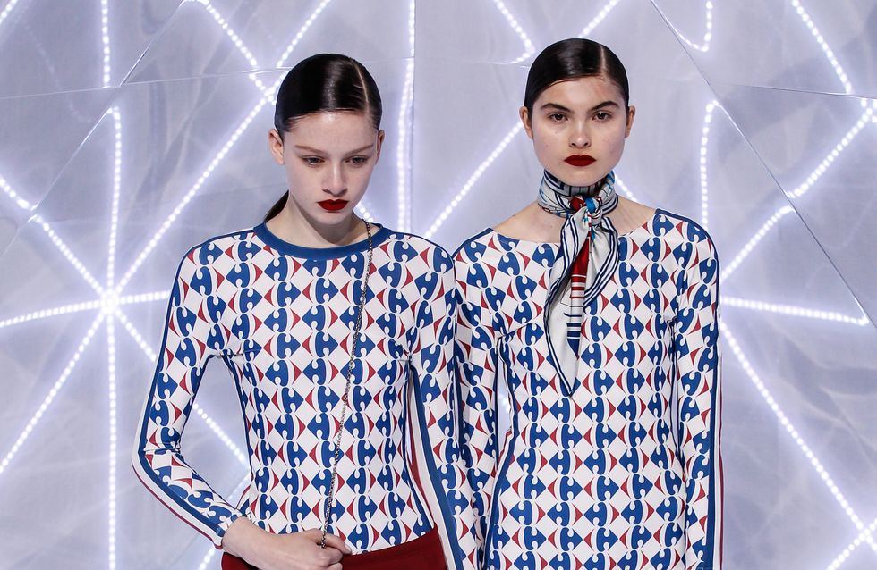 WTF : Une maison de couture reprend le logo Carrefour