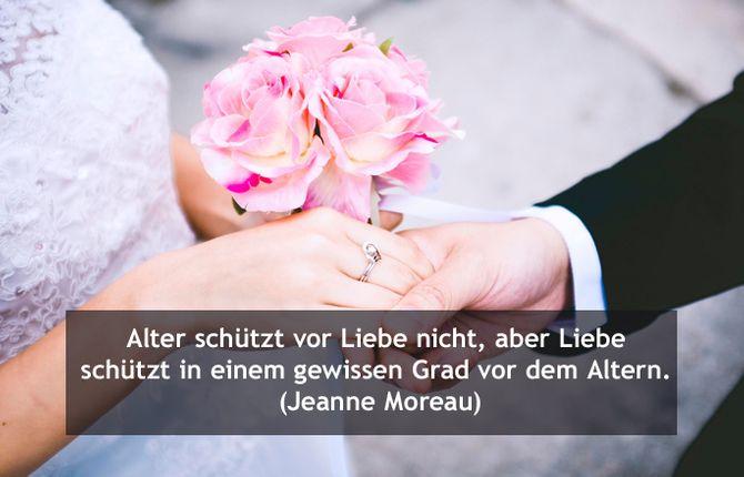 Hochzeitswünsche: Zitate