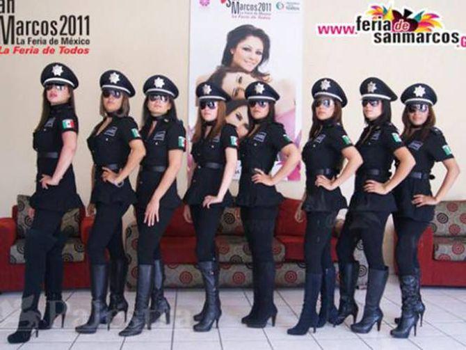 La demande scandaleuse et sexiste faite à des policières mexicaines