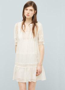Kleid mit Häkeldetails von Mango, 49,99 €