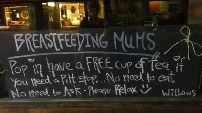 Allaitement : La bonne idée d'un café australien