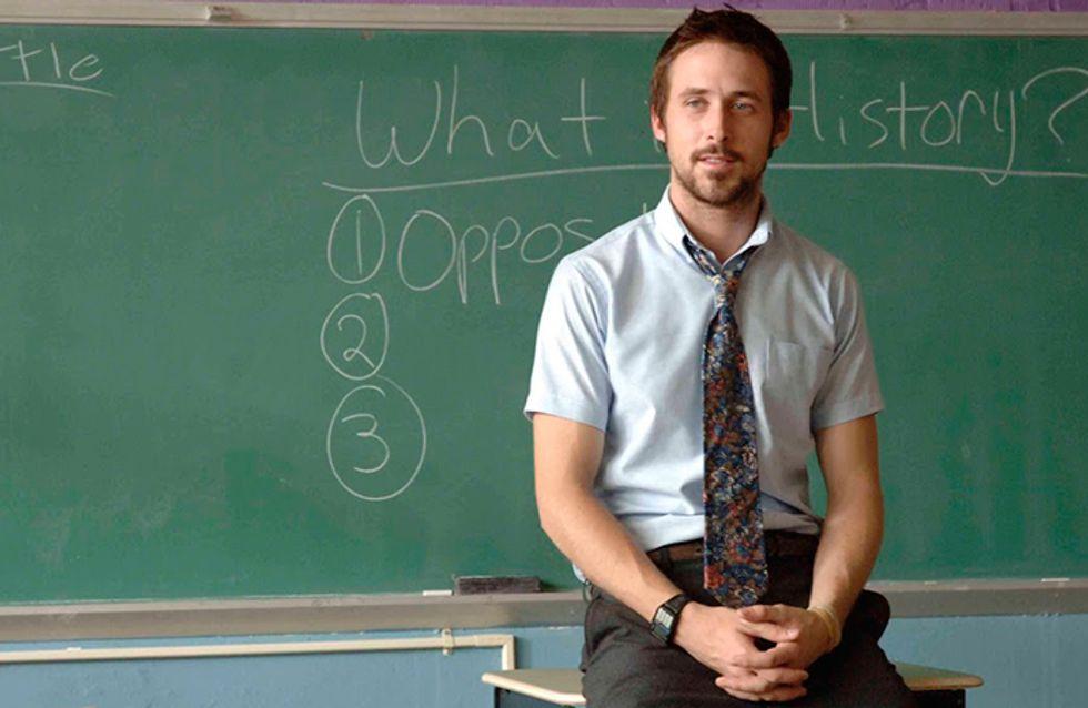 Queridinha do professor? Faça o teste e descubra a que filmes esses professores pertencem