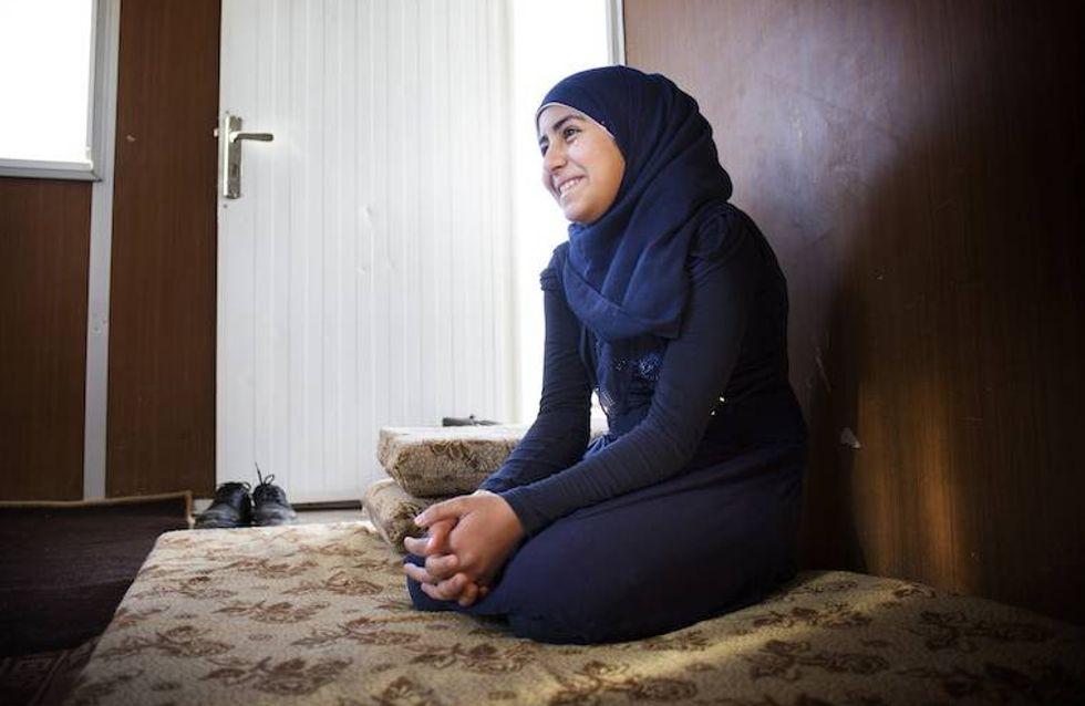 A seulement 15 ans, cette Syrienne lutte contre les mariages forcés dans les camps de réfugiés