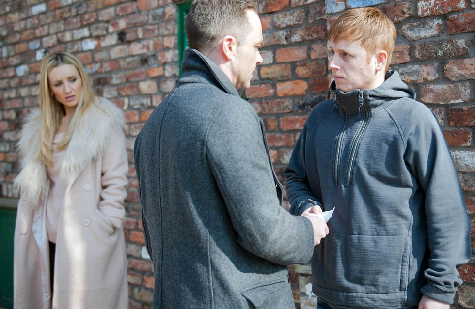 Coronation Street 27/04 - Jason's grief bubbles to the surface