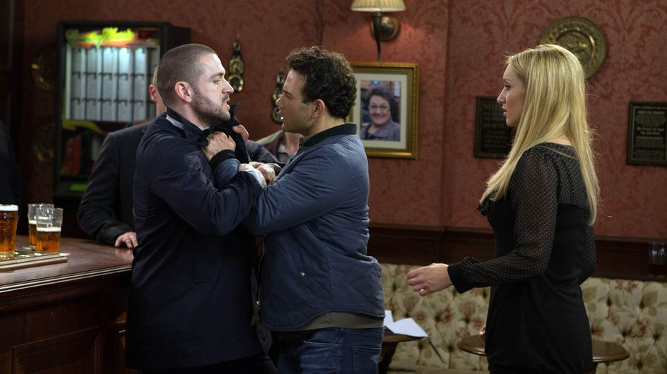 Coronation Street 29/04 - Jason lashes out at everyone