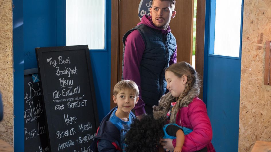 Hollyoaks 26/4 - James and Marnie revel in the trouble they've caused