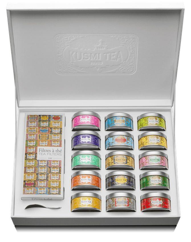 Coffret La Collection KUSMI TEA, 80€