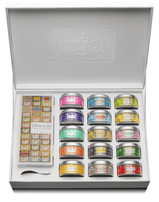 Coffret La Collection KUSMI TEA, 80€
