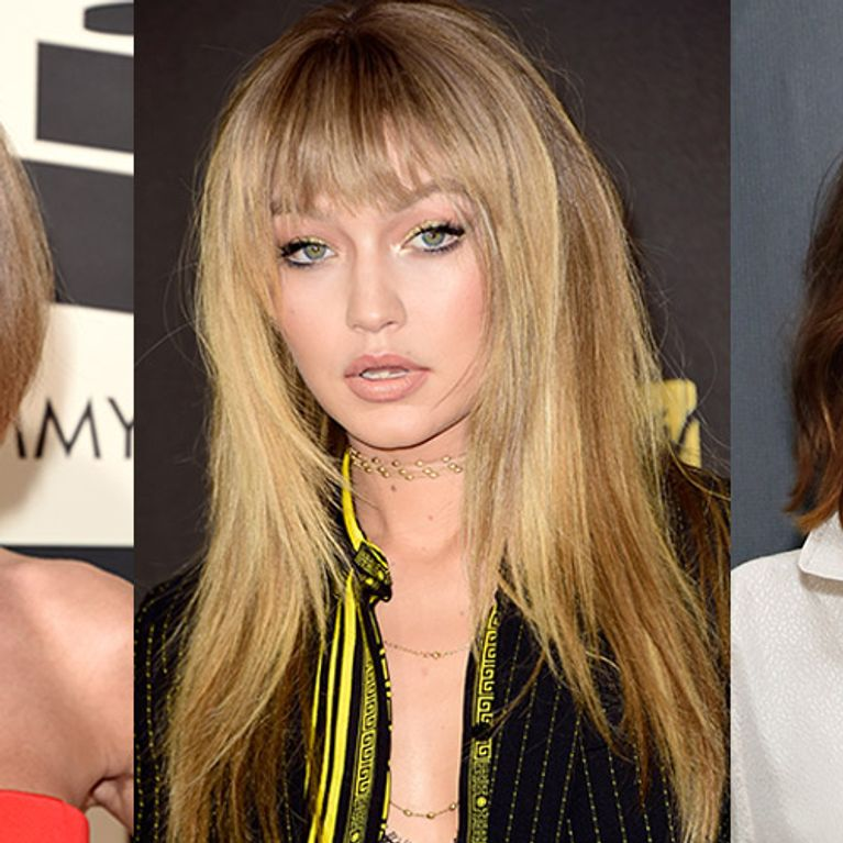 Fringe Hairstyles The Best Celebrity Bangs Ever