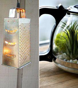 Aus einer Reibe eine Lampe basteln? Klar! 5 geniale DIY-Upcycling-Ideen für ausr