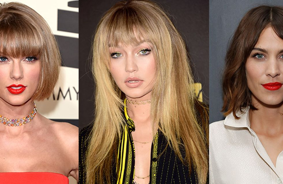 Fringe Hairstyles: The Best Celebrity Bangs In All The Land