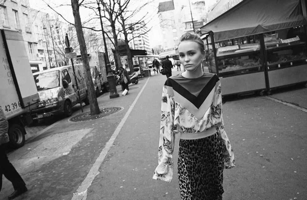 Lily-Rose Depp, ado mystérieuse pour Vanity Fair (Photos)