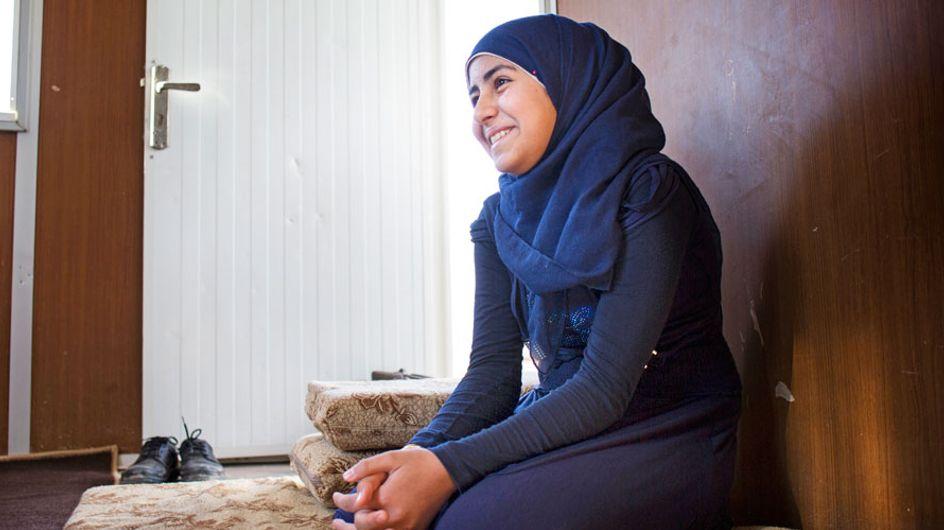 Día del refugiado: la lucha de esta niña es toda una fuente de inspiración