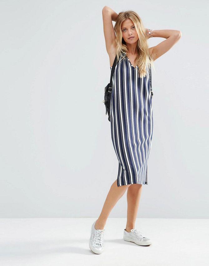 La robe à rayures ASOS, 30.99 euros