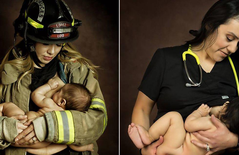 Beruf und Familie: Diese Fotoserie zeigt eindrucksvoll, wie stark Mütter wirklich sind