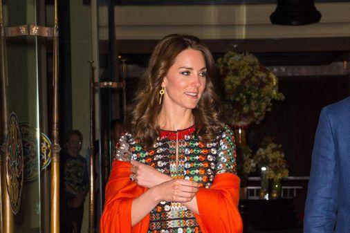 Kate Middleton en Inde