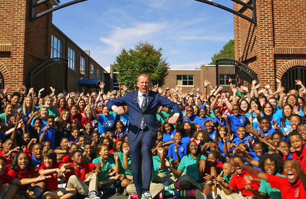 En este colegio la diversión es obligatoria: ¡los niños aprenden matemáticas bailando!