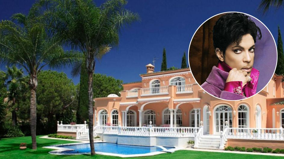 Nos colamos en la casa de Prince en Marbella