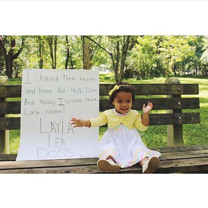 Together We Rise partage les photos d'enfants adoptés et heureux