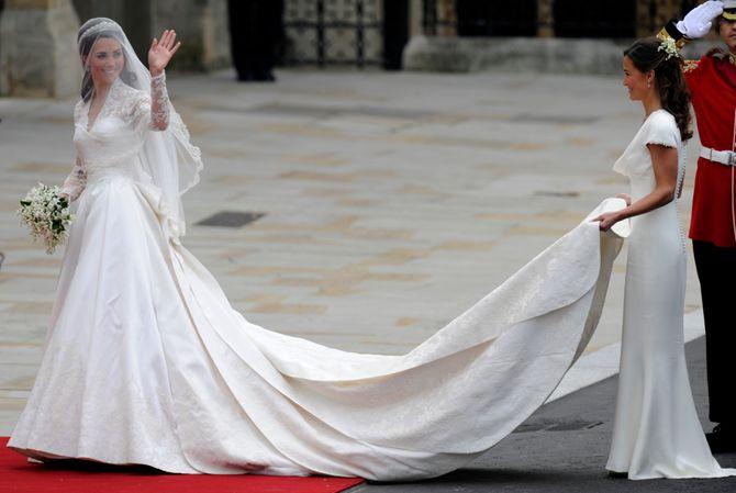 La robe de mariée de Kate Middleton fait l'objet d'un procès