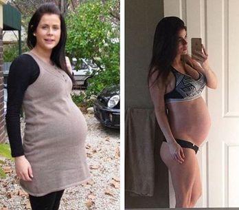 Normal vs. superfit: Diese Mutter sorgt mit ihren Vorher-Nachher-Fotos für Disku