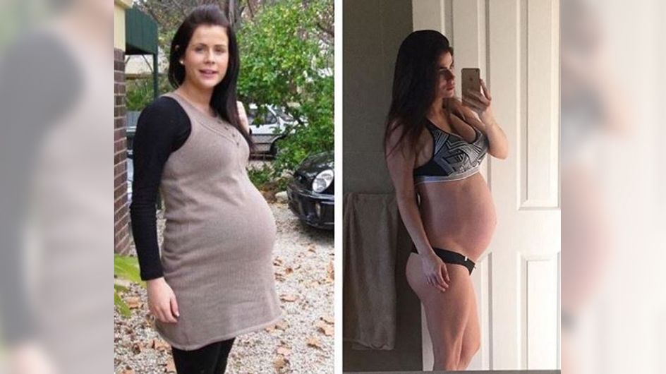 Normal vs. superfit: Diese Mutter sorgt mit ihren Vorher-Nachher-Fotos für Diskussion