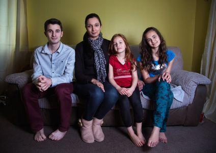 Grace con Daniel, Miriam y Grace