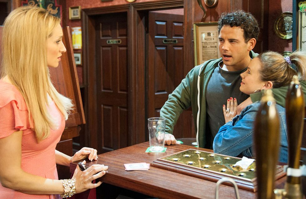 Coronation Street 06/5 - Todd and Jason pack up the last of Tony's things in the flat