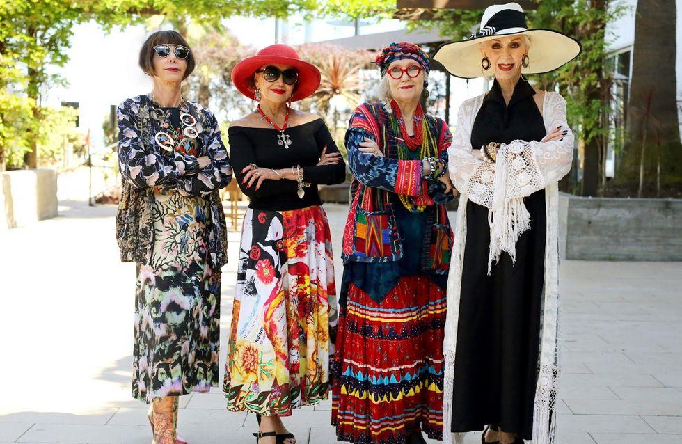 Ces personnes âgées nous donnent une belle leçon de style (Photos)