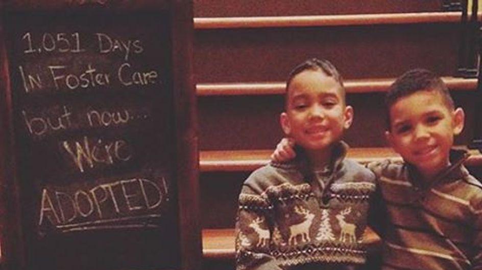 60 fotos de niños que por fin encontraron una familia adoptiva