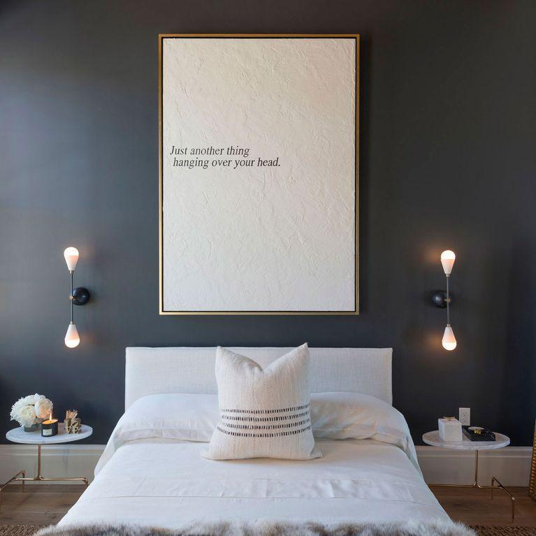 ideas dormitorio Ideas Para Decorar Las Paredes Del Dormitorio