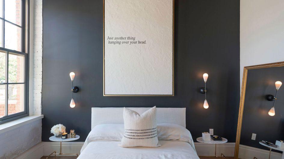 16 ideas para decorar las paredes del dormitorio