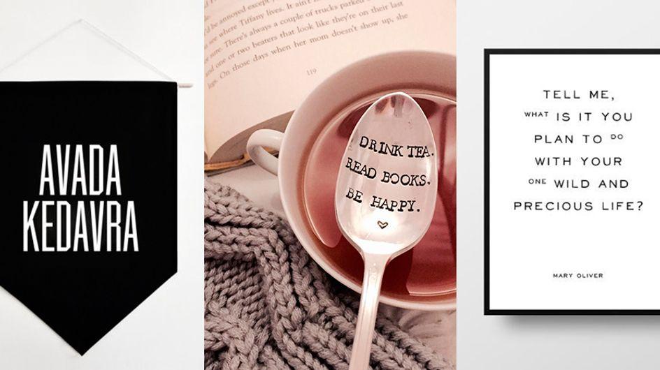 Coisas que toda apaixonada por leitura adoraria ter em casa