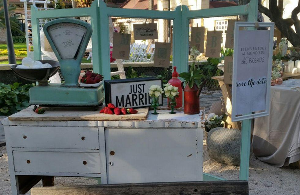 7 estilos de decoración de boda que arrasan en 2016