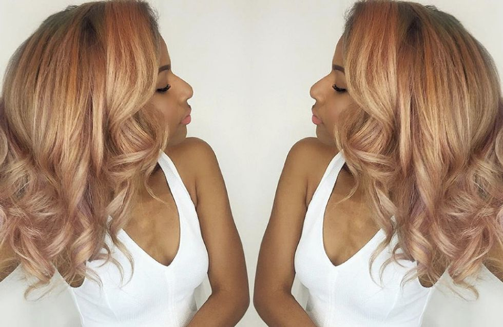 Rose Gold Hair Is Here And It's Giving Us All The Summer Feels