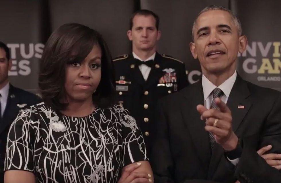 Les Obama défient le prince Harry sur Twitter, Elizabeth II les remet à leur place (Vidéos)
