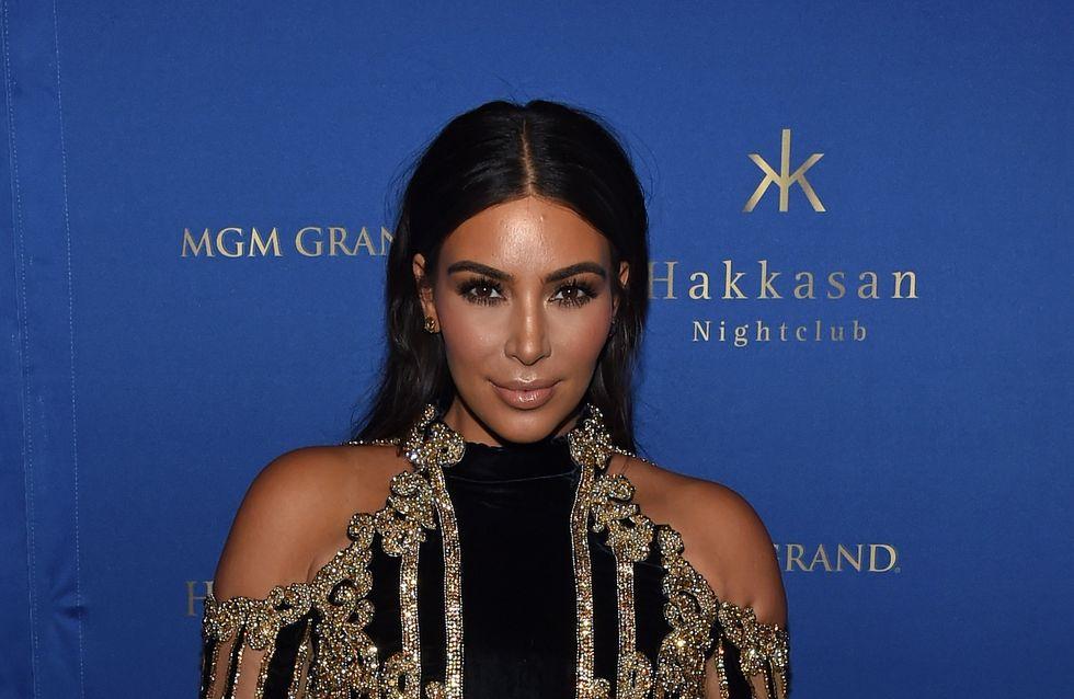 Kim Kardashian sans maquillage et sans brushing, ça donne ça (Photo)