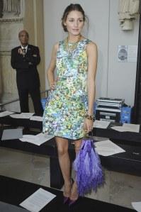 Olivia Palermo en robe Zara