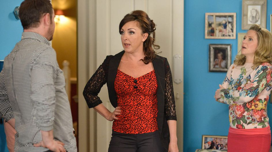 Eastenders 10/5 - The Carters reel from the night before