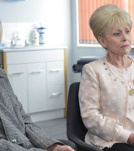 Eastenders 13/5 - Peggy's presence becomes known in the Square