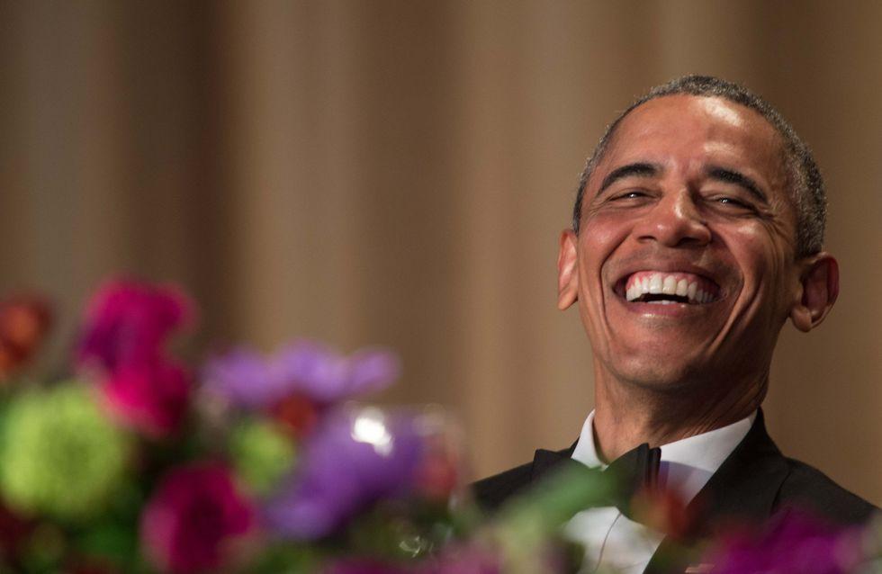 """""""C'est fini !"""" Obama craque complètement pendant un gala (Vidéos)"""