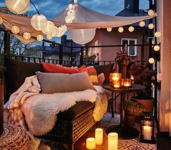 5 claves para iluminar tu terraza (o jardín) en las noches de verano