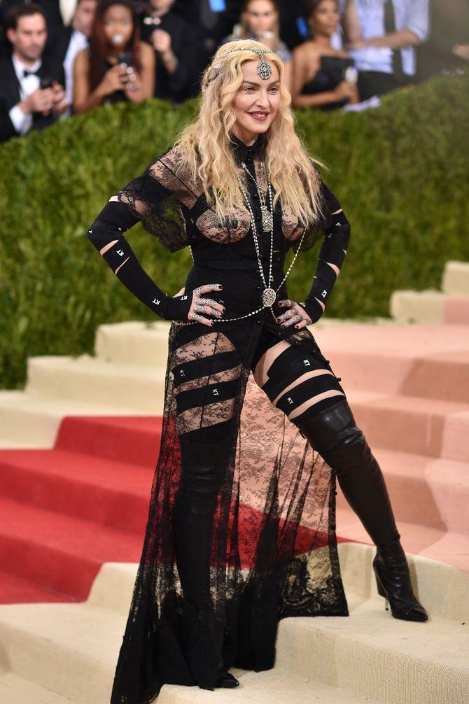 Madonna au Met Ball 2016