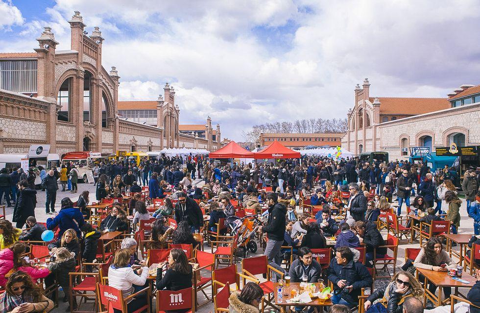 Reunión de diseñadores emergentes en el Mercado de Diseño de Madrid
