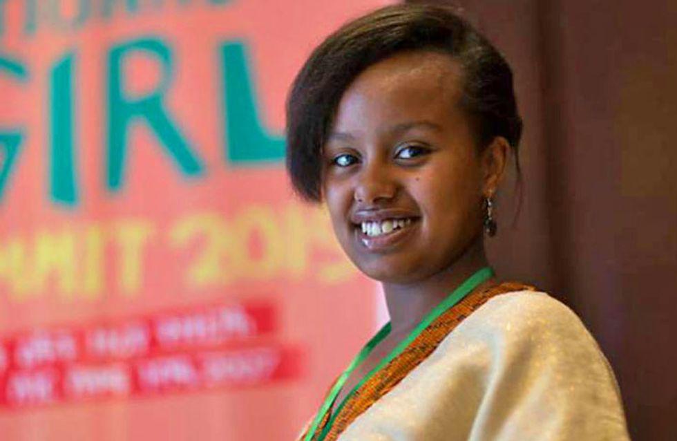 Achie, la joven que exige a los políticos proteger a las niñas de los abusos sexuales