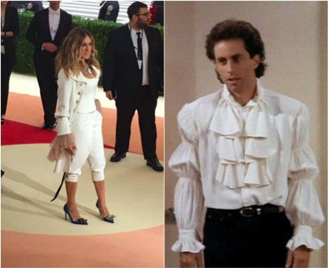Sarah Jessica Parker : une tenue de mousquetaire ?
