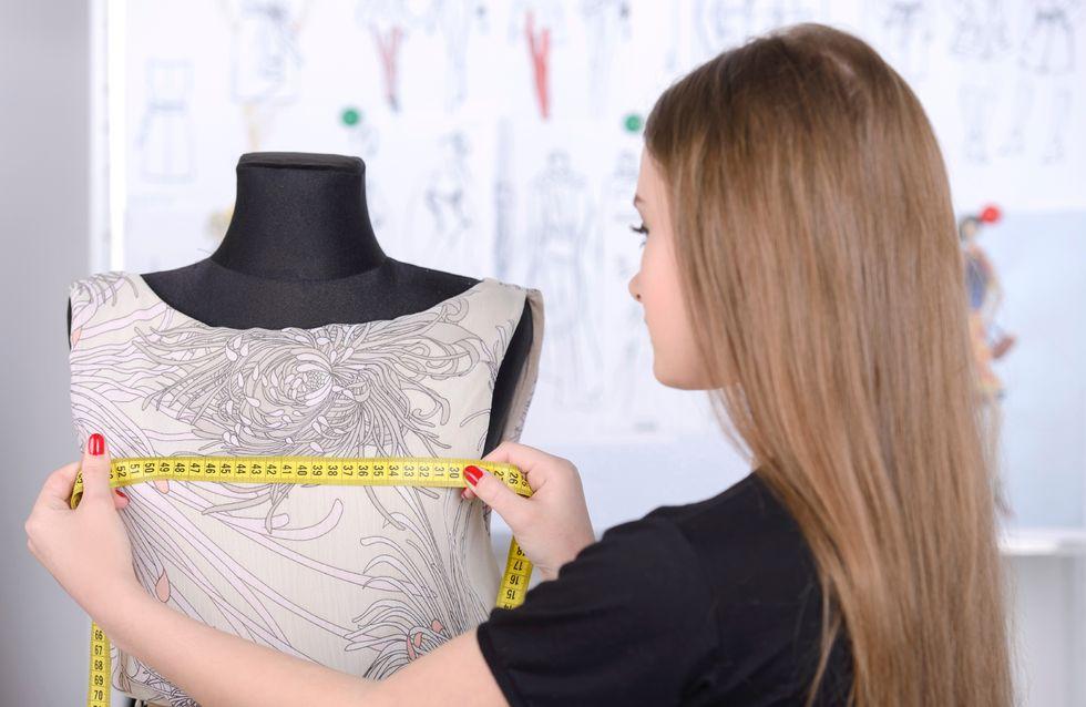 Etudiante en école de stylisme, elle lance une pétition pour qu'il y ait plus de mannequins plus-size