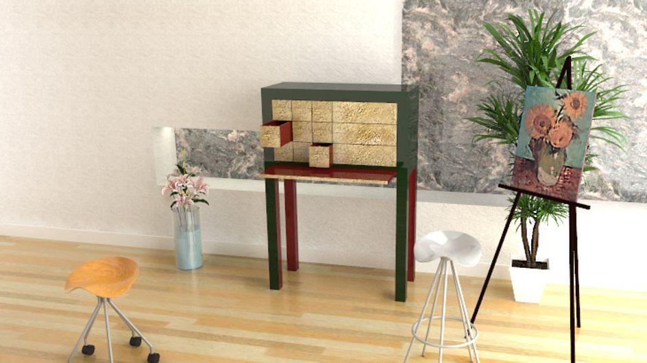 Muebles joya, la obra de arte del diseño de interiores